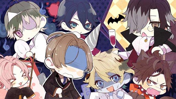 Tags: Anime, Satoi, honeybee, Shinigami Kareshi Series, Syun (Shinigami Kareshi), Ame (Sninigami Kareshi), Hiiro (Shinigami Kareshi), Yoru (Shinigami Kareshi), Yuyu (Shinigami Kareshi), Kairi (Shinigami Kareshi), Nami (Shinigami Kareshi), CG Art