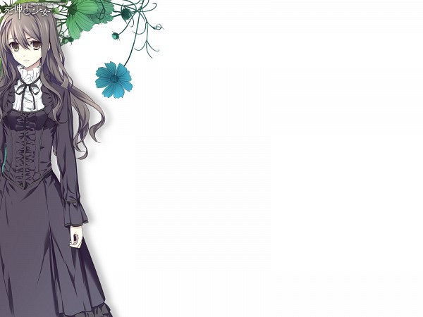 Tags: Anime, Shinigami to Shoujo, Toono Sayo, Wallpaper, The Death Reaper And The Girl