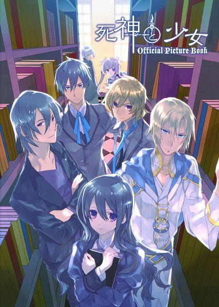 Shinigami to Shoujo Official Picture Book - Shinigami to Shoujo