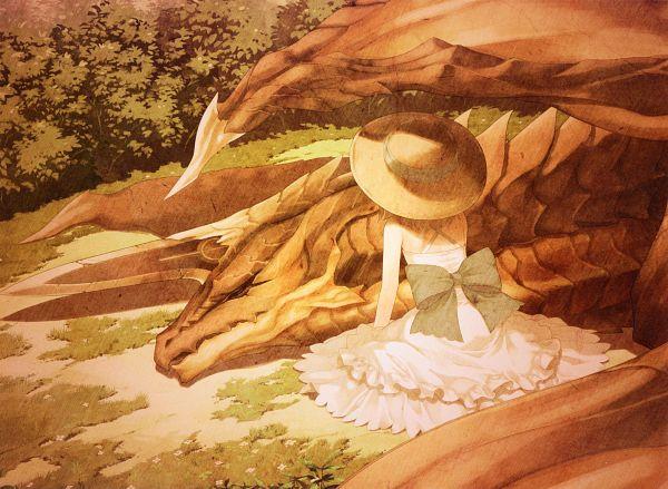 Tags: Anime, Tony Taka, Shining Resonance - Collection of Visual Materials, Shining Resonance, Yuma Ilburn (Dragon), Yuma Ilburn, Official Art, Character Request, Scan