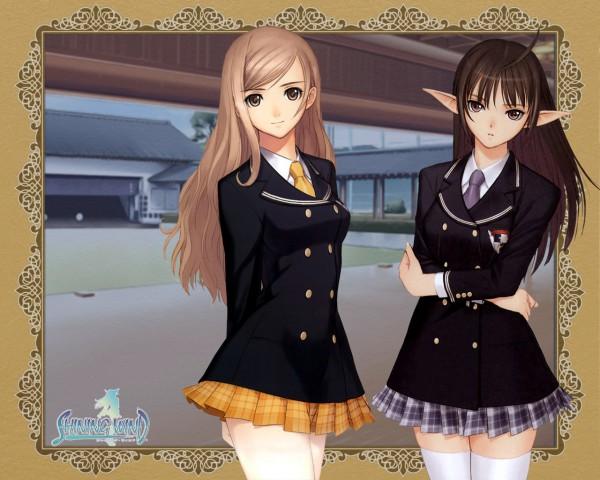 Tags: Anime, Shining Tears, Xecty Ein, Touka Kureha, Wallpaper