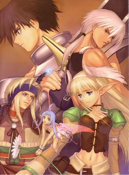 Tags: Anime, Tony Taka, Shining Tears, Elwyn, Maple (Shining Tears), Keiner, Xion (Shining Tears)