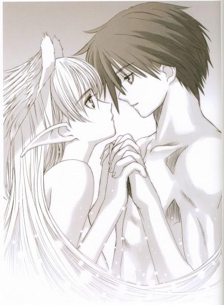 Tags: Anime, Tony Taka, Elwyn, Xion (Shining Tears), Scan