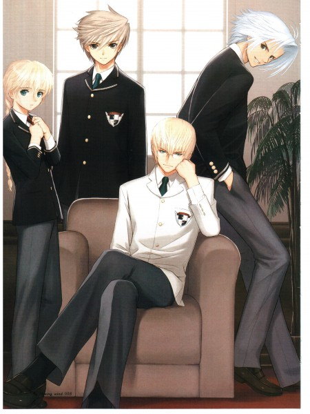 Tags: Anime, Tony Taka, Shining Tears, Akizuki Souma, Kiriya Kaito, Caris Phirias, Saionji Haruto