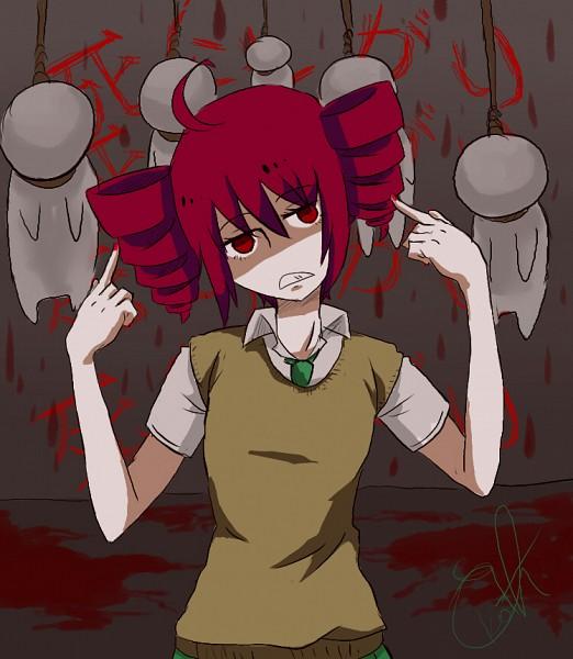 Tags: Anime, Tubescream, UTAU, Kasane Teto, Hanging, Noose, deviantART, Nashimoto-p, Shinitagari, Fanart