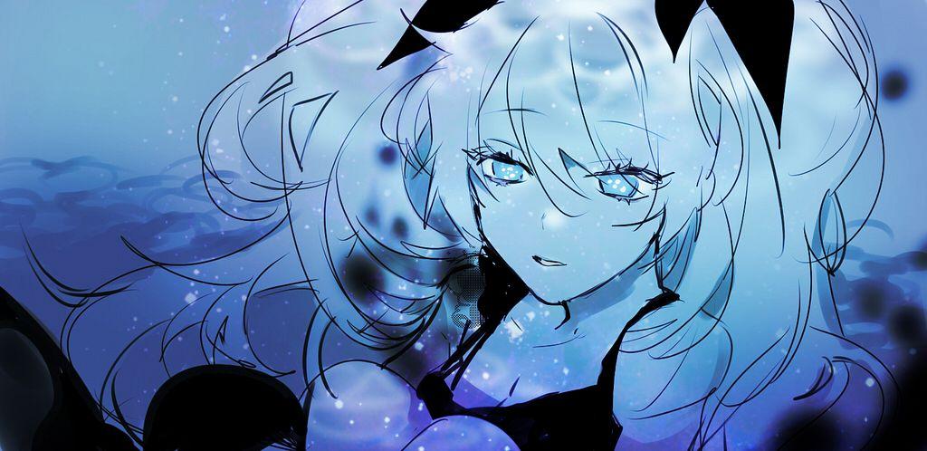 Tags: Anime, Piyo (ppotatto), VOCALOID, Hatsune Miku, Fanart, Pixiv, Twitter, Sketch, Fanart From Pixiv, PNG Conversion, Facebook Cover, Shinkai Shoujo, Deep-sea Girl