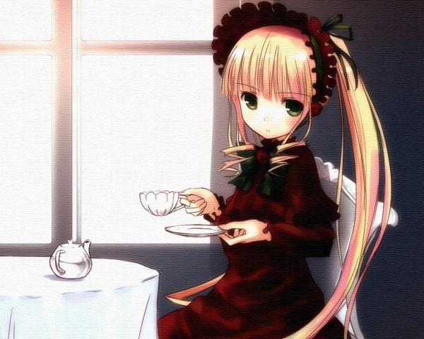 Tags: Anime, Okaka, Rozen Maiden, Shinku, Fanart