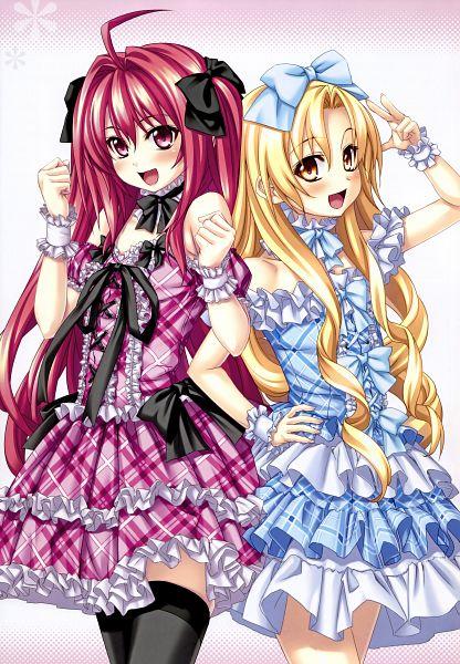 Tags: Anime, Kannatsuki Noboru, Shinkyoku Soukai Polyphonica, Iaritikke Sin Goluot, Corticarte Apa Lagranges, Scan, Official Art, Mobile Wallpaper