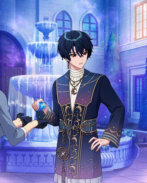 Tags: Anime, Mahoutsukai no Yakusoku, Shino (Mahoutsukai no Yakusoku), Fountain, Official Art, Official Card Illustration