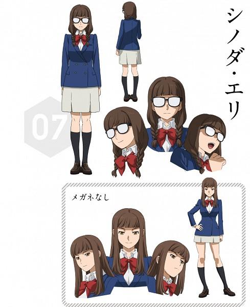 Tags: Anime, Gundam Build Fighters Try, Shinoda Eri, Official Art