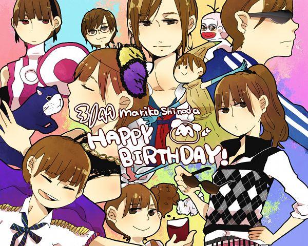 Tags: Anime, Pixiv Id 1702405, Majisuka Gakuen, Shinoda Mariko, Sado (Majisuka Gakuen), Pixiv, Fanart, Beginner, J-Pop, Fanart From Pixiv, AKB48