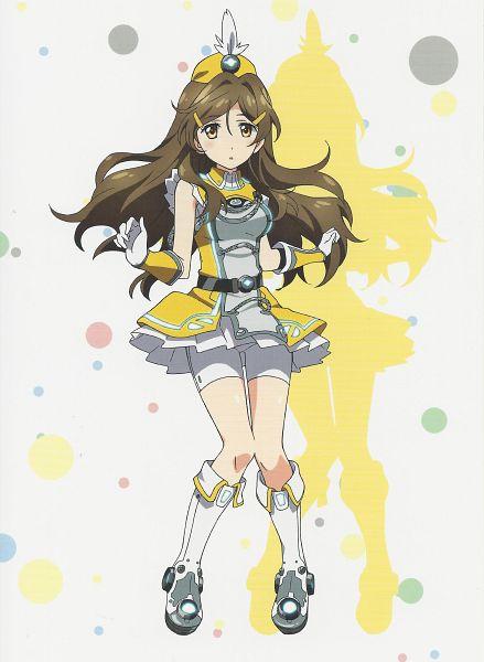 Tags: Anime, Vividred Operation, Shinomiya Himawari, Official Art, Scan