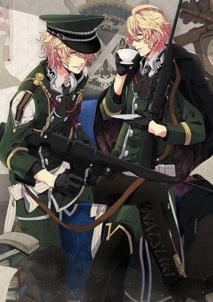 Tags: Anime, Monokuropengin, Uta no☆prince-sama♪, Shinomiya Natsuki, Sniper Rifle, Pixiv, Fanart From Pixiv, Fanart, Mobile Wallpaper