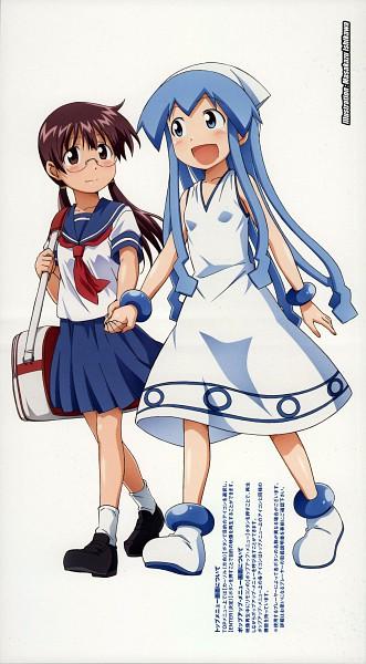 Tags: Anime, Diomedéa, Shinryaku! Ikamusume, Ikamusume, Sakura Kiyomi, DVD (Source), Official Art, Scan, Squid Girl (series)