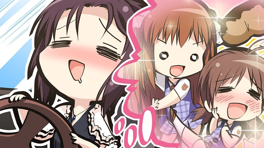 Tags: Anime, Taguchi Makoto, Pulltop, Shinsei Ni Shite Okasubekarazu, Horiuchi Kyouko, Sanemaki Nozomi, Kashimura Misao, = =, Wallpaper, CG Art