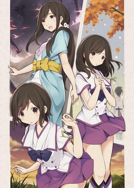 Tags: Anime, Furumiya Haiji, Shinsekai Yori, Aonuma Shun, Watanabe Saki, Mobile Wallpaper, From The New World