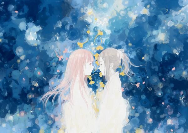 Tags: Anime, Reina (Pixiv Id 2919634), Shinsekai Yori, Akizuki Maria, Watanabe Saki, Pixiv, Fanart, From The New World