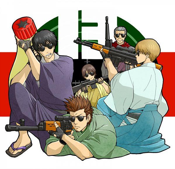 Tags: Anime, mm, Gintama, Yamazaki Sagaru, Kondo Isao, Okita Sougo, Mayora 13, Hijikata Toushirou, Matsudaira Katakuriko, Pixiv, Fanart, Shinsengumi (Gin Tama)