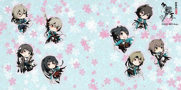 Tags: Anime, Rejet, Shinsengumi Mokuhiroku Wasurenagusa, Hijikata Toshizou (Shinsengumi Mukohiroku Wasuregusa), Harada Sanosuke (Shinsengumi Mokuhiroku Wasurenagusa), Yamazaki Susumu (Shinsengumi Mokuhiroku Wasuregusa), Saitou Hajime (Shinsengumi Mokuhiroku Wasurenagusa), Kondou Isami (Shinsengumi Mokuhiroku Wasurenagusa), Toudou Heisuke (Shinsengumi Mokuhiroku Wasurenagusa), Okita Souji (Shinsengumi Mokuhiroku Wasurenagusa), Nagakura Shinpachi (Shinsengumi Mokuhiroku Wasurenagusa), Official Art