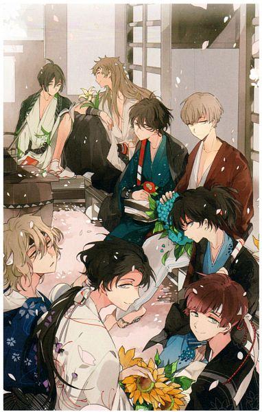 Tags: Anime, Suou, Rejet, Shinsengumi Mokuhiroku Wasurenagusa, Harada Sanosuke (Shinsengumi Mokuhiroku Wasurenagusa), Toudou Heisuke (Shinsengumi Mokuhiroku Wasurenagusa), Yamazaki Susumu (Shinsengumi Mokuhiroku Wasuregusa), Yamanami Keisuke (Shinsengumi Mokuhiroku Wasurenagusa), Okita Souji (Shinsengumi Mokuhiroku Wasurenagusa), Itou Kashitarou (Shinsengumi Mokuhiroku Wasurenagusa), Nagakura Shinpachi (Shinsengumi Mokuhiroku Wasurenagusa), Saitou Hajime (Shinsengumi Mokuhiroku Wasurenagusa), Mobile Wallpaper