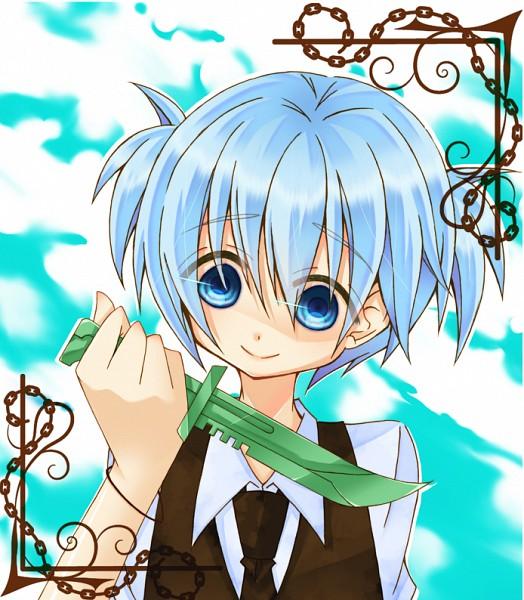 Tags: Anime, Pixiv Id 1106448, Ansatsu Kyoushitsu, Shiota Nagisa, Pixiv, Fanart