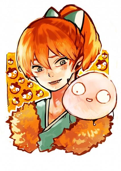 Tags: Anime, Pixiv Id 970582, InuYasha, Shippo, Mobile Wallpaper