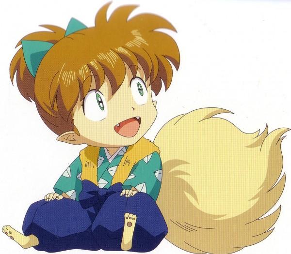 Tags: Anime, InuYasha, Shippo, Self Scanned