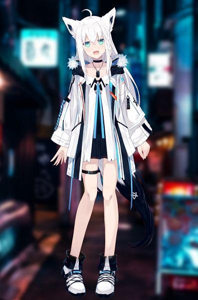 Tags: Anime, Nagishiro Mito, Hololive, Shirakami Fubuki Channel, Shirakami Fubuki, Official Art