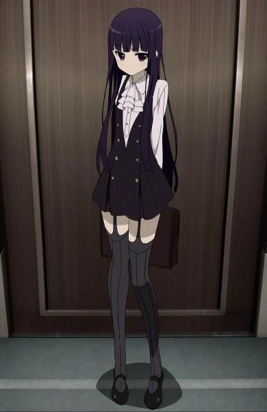 Tags: Anime, Inu x Boku SS, Shirakiin Ririchiyo, Screenshot, Mobile Wallpaper, Stitched Screenshot