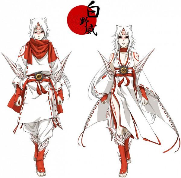 Tags: Anime, Pixiv Id 20789, Okami, Shiranui, God, Fanart From Pixiv, Fanart, Pixiv