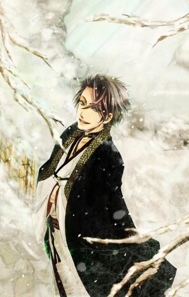 Tags: Anime, suganbaru, Starry☆Sky~, Shiranui Kazuki, Mobile Wallpaper, Pixiv, Fanart, Starry☆Sky ~in Winter~