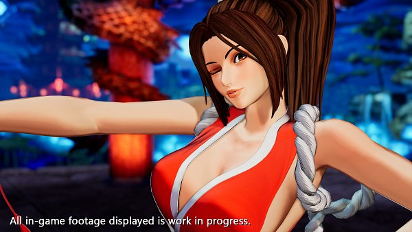 Tags: Anime, SNK, The King of Fighters, Shiranui Mai, Official Art, Wallpaper, 3D, Twitter, Screenshot