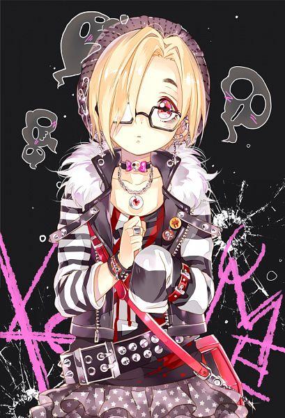 Tags: Anime, Starpri, THE iDOLM@STER: Cinderella Girls, Shirasaka Koume, Punk, Mobile Wallpaper, Koume Shirasaka