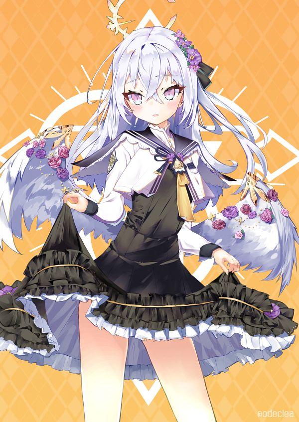 Tags: Anime, Pixiv Id 14406558, Blue Archive, Shirasu Azusa, Fanart From Pixiv, Pixiv, Fanart