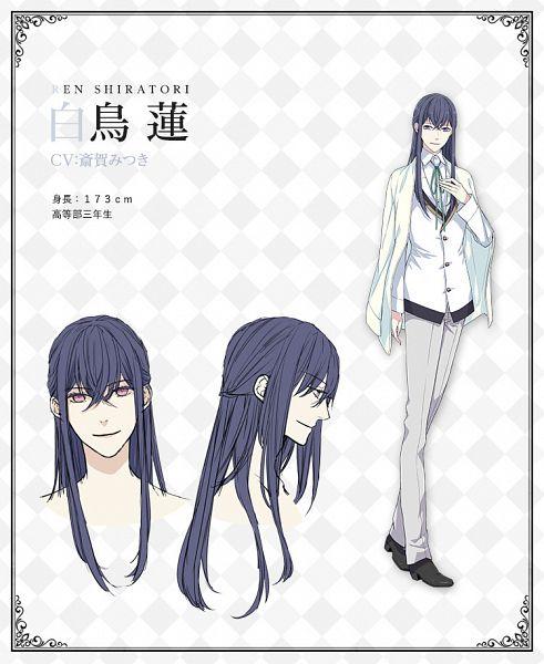 Tags: Anime, Kosumi Fujiko, Silver Link, Butlers: Chitose Momotose Monogatari, Shiratori Ren (Butlers), Official Art, Character Sheet