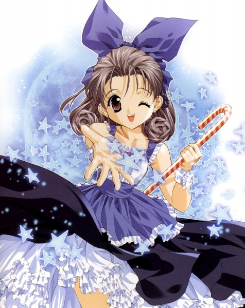 Tags: Anime, Tenhiro Naoto, Sister Princess, Art of Sister Princess I, Shirayuki, Candy Cane