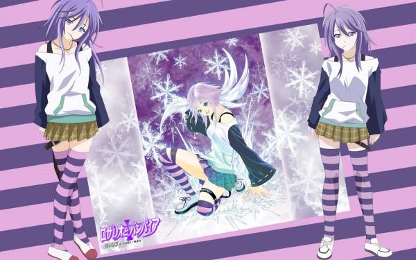 Tags: Anime, Rosario + Vampire, Shirayuki Mizore, Yuki Onna, 1680x1050 Wallpaper, Wallpaper