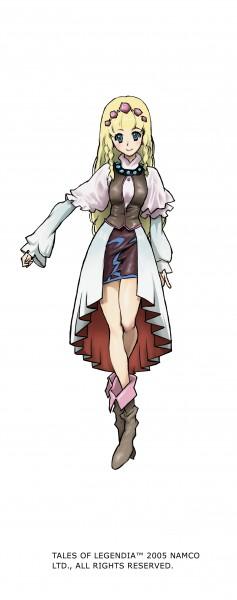 Tags: Anime, Nakazawa Kazuto, Tales of Legendia, Shirley Fennes, Official Art