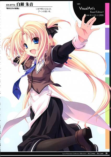 Tags: Anime, Miyama Zero, Silver Prism, Kanojotachi no Ryuugi, Shirogane Akane