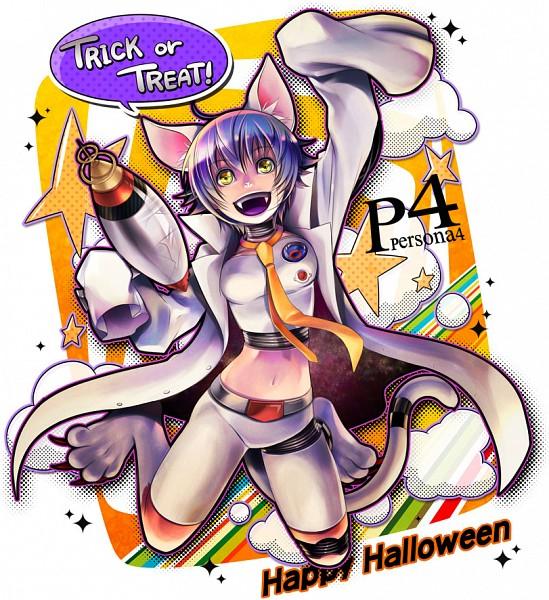 Tags: Anime, Choumoku (Toriko B C), Shin Megami Tensei: PERSONA 4, Shirogane Naoto, Oversized Clothes