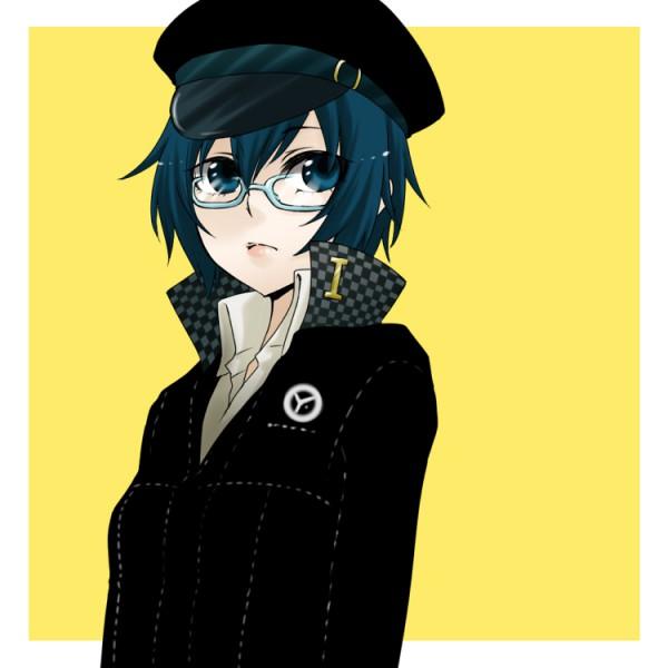 Tags: Anime, Kiyomizu Kokeshi, Shin Megami Tensei: PERSONA 4, Shirogane Naoto, Police Hat, Pixiv