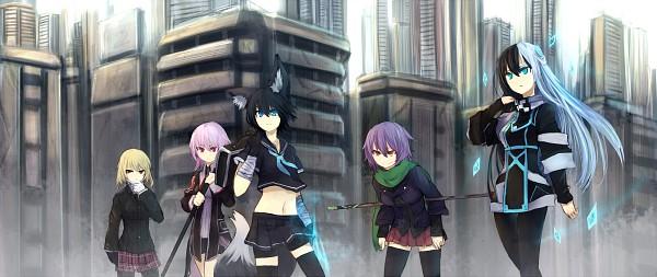 Tags: Anime, A Box, Shirogane Usagi, Norah=Bright, Toda, Nanako (Shirogane Usagi), Herpestiz Kadokura, Pixiv, Original, Facebook Cover