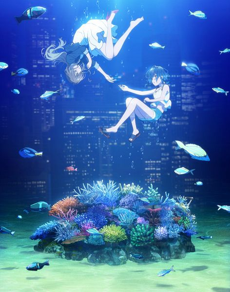 Shiroi Suna no Aquatope (The Two Girls Met In The Ruins Of Damaged Dream)