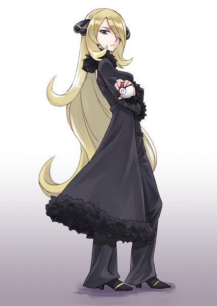 Shirona (Pokémon) (Cynthia (pokemon)) - Pokémon Diamond & Pearl