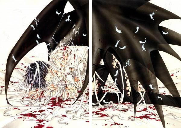 Tags: Anime, CLAMP, X, X Infinity, Shirou Kamui, Official Art, Scan