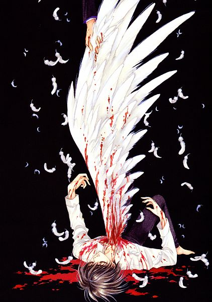 Tags: Anime, CLAMP, X, X Zero, Monou Fuuma, Shirou Kamui, Mobile Wallpaper, Scan, Official Art