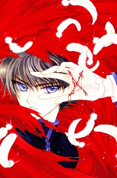 Tags: Anime, CLAMP, X, X Zero, Shirou Kamui, Official Art, Scan, Mobile Wallpaper