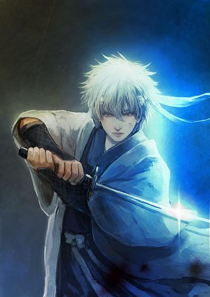 Tags: Anime, Pixiv Id 2773386, Gintama, Sakata Gintoki, Shiroyasha, Pixiv, Joui War, Fanart From Pixiv, Fanart, Mobile Wallpaper