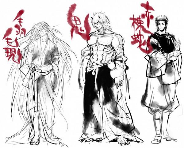 Tags: Anime, Toriko, Coco (Toriko), Sani (Toriko), Toriko (Character), Pixiv, Shitennou