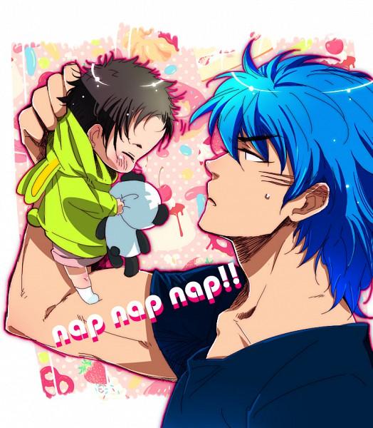 Tags: Anime, Pixiv Id 324338, Toriko, Coco (Toriko), Toriko (Character), Fanart, Shitennou